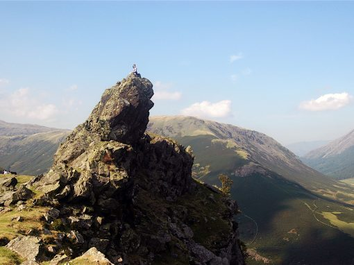 HELM CRAG, THE SUMMIT ROCK