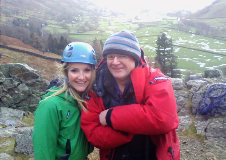 Helen Skelton and Bill Birkett