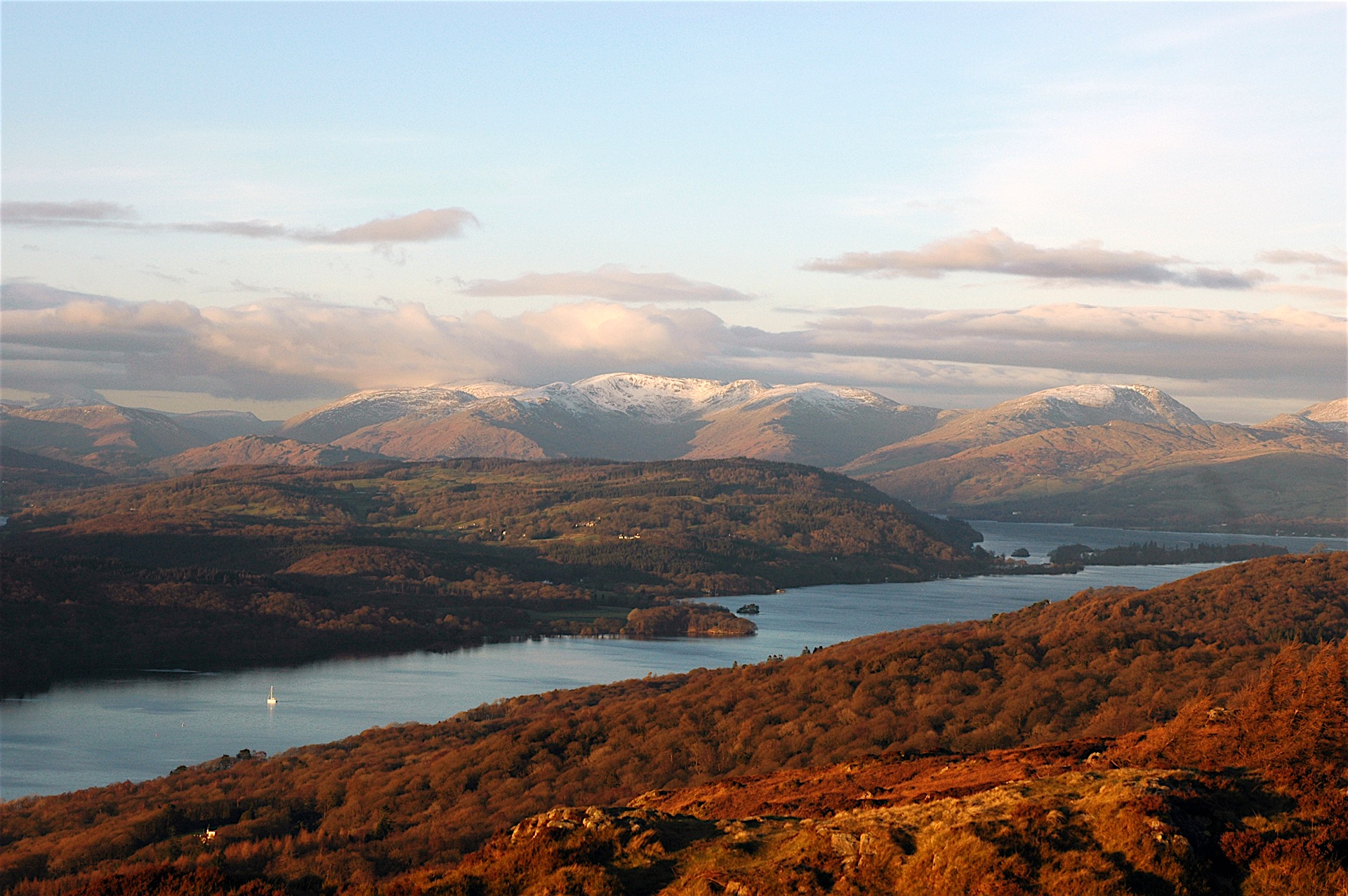 FROM GUMMER'S HOW OVER LAKE WINDERMERE