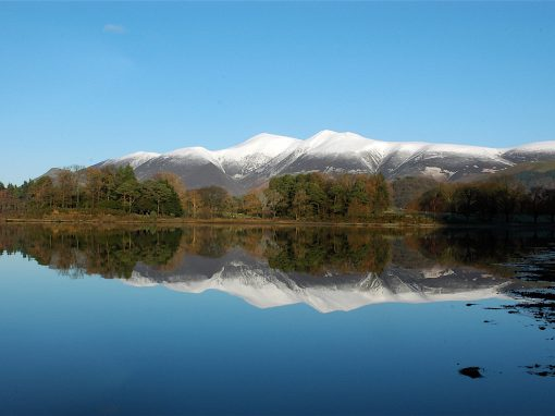 SKIDDAW REFLECTED IN DERWENTWATER