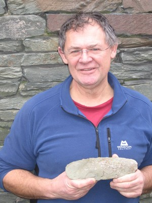 Visit from Mark Ward and the Neolithic axe factory