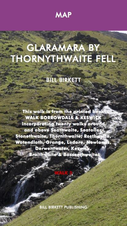 Glaramara by Thornythwaite Fell