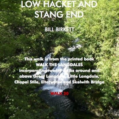 LANGDALE WALK 20 Colwith Force by Hacket and Stang End