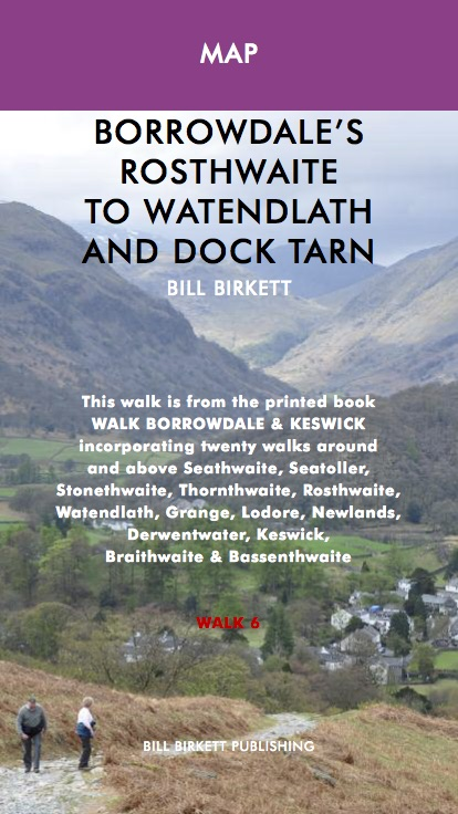 Contrasting the remote wildness of Watendlath and Dock Tarn with the sylvan beauty of the Borrowdale valley this is a very fine outing indeed. Weather permitting this walk is suitable for most times of the year but is arguably at it's finest in late spring, when the lambs gamble and May blossom blooms, or early summertime when Dock Tarn is white with water lilies.