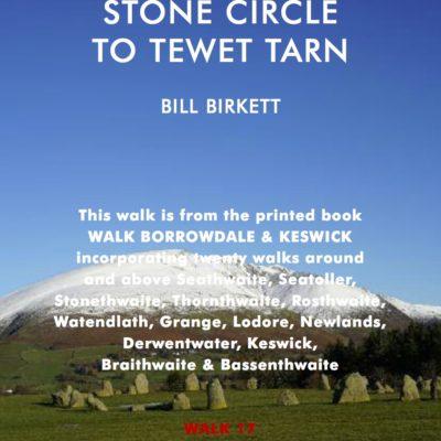 Castlerigg Stone Circle to Tewet Tarn
