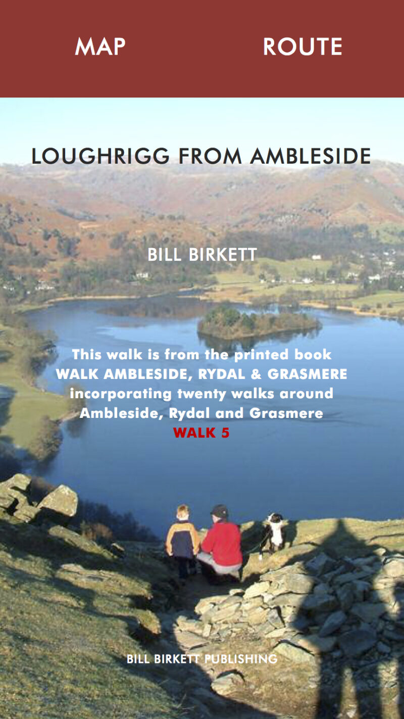 LOUGHRIGG FROM AMBLESIDE