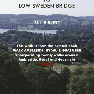 AMBLESIDE'S HIGH TO LOW SWEDEN BRIDGE