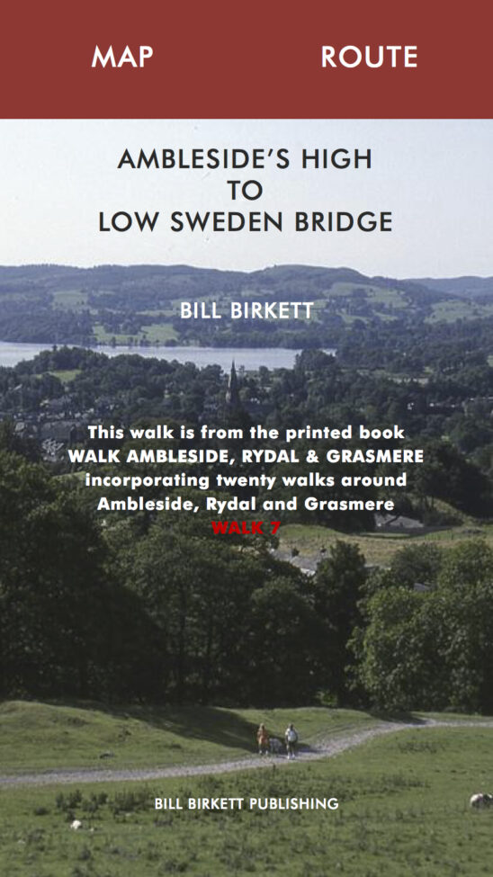 AMBLESIDE'S HIGH TO LOW SWEDEN BRIDGE