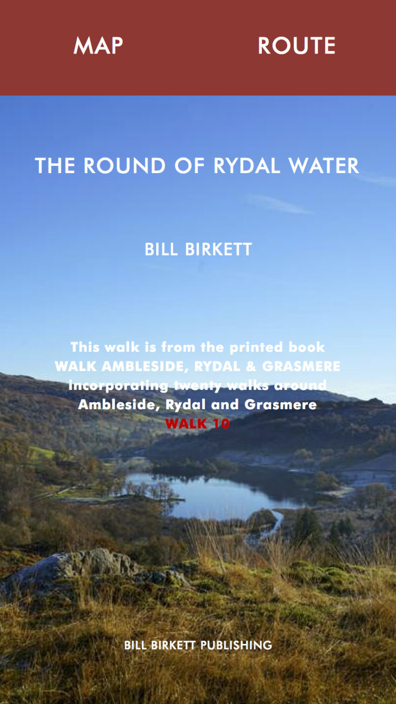 THE ROUND OF RYDAL WATER