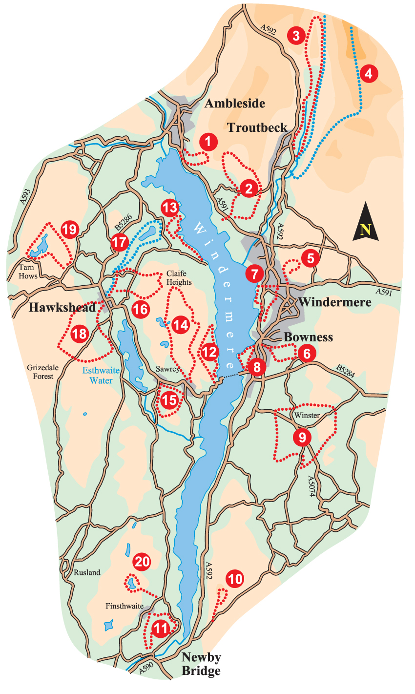 WINDERMERE OVERVIEW MAP