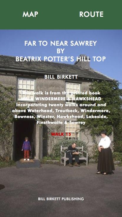 FAR TO NEAR SAWREY BY BEATRIX POTTER'S HILLSTOP