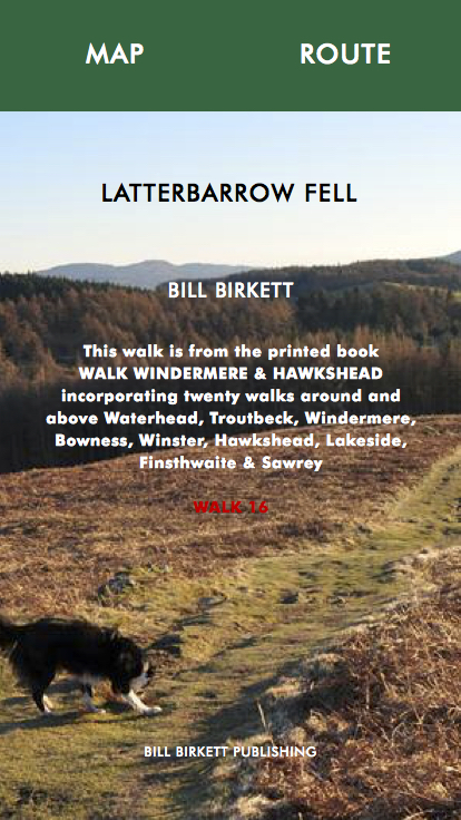 LATTERBARROW FELL- Bill Birketts Lakeland Walks