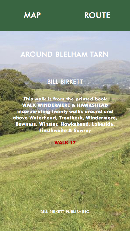 AROUND BLELHAM TARN- Bill Birketts Lakeland Walks