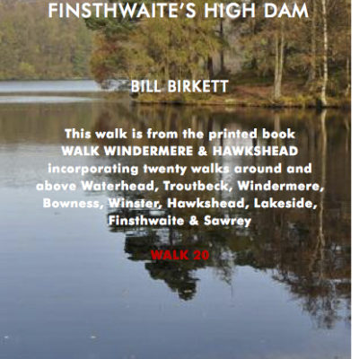 LENGTH: 3km. TIME: 1 hour. DIFFICULTY: Easy, on paths and stony track. Overall there is 140m of ascent. START & FINISH: High Dam Car Park just above the Finsthwaite Road (369 882). MAPS: OS L97 or OL7. HOSTELRIES: Non en-route, nearest are Lakeside Pier Café and Newby Bridge Hotel.