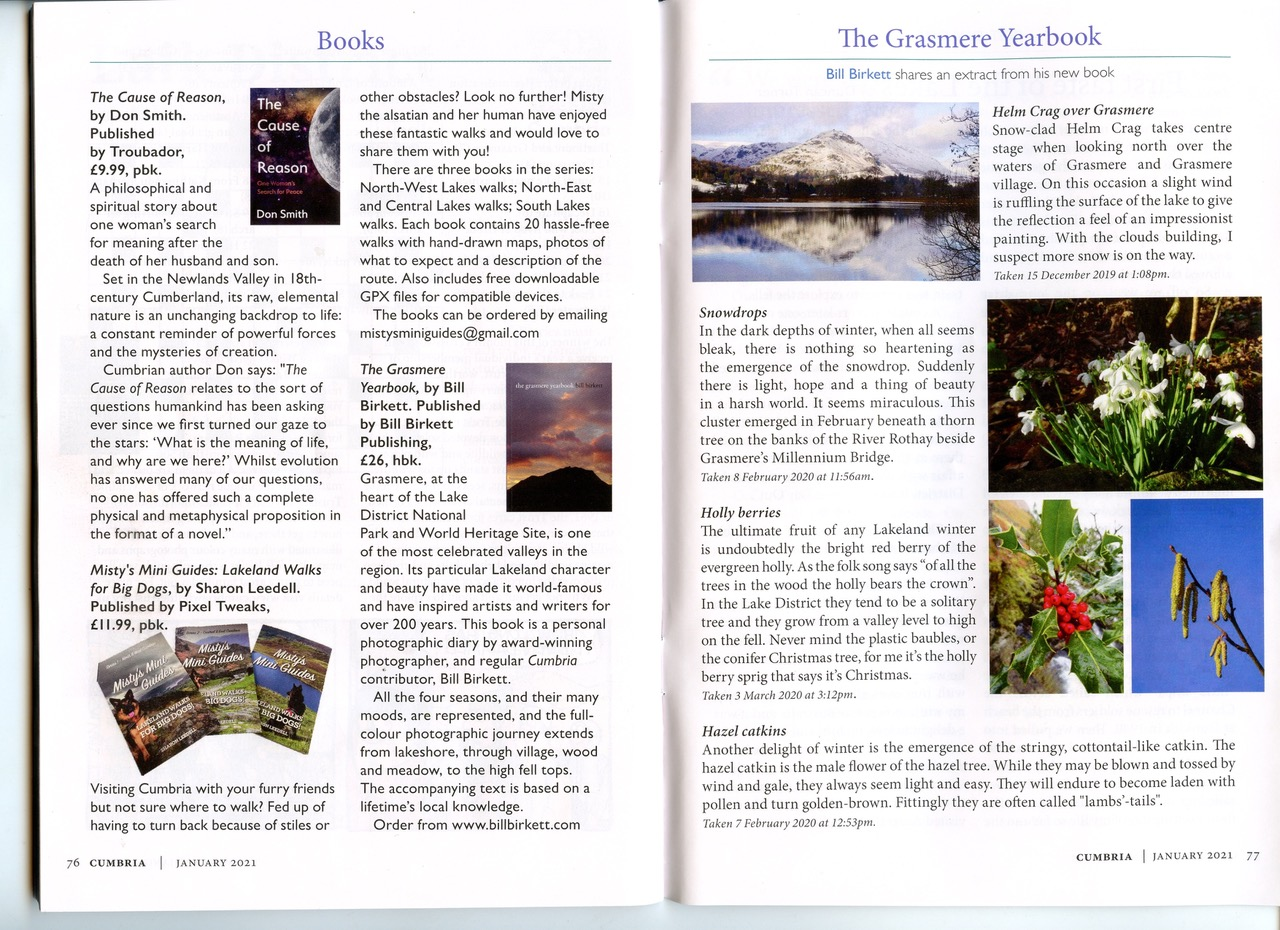 Bill Birkett Book Review The Grasmere Yearbook