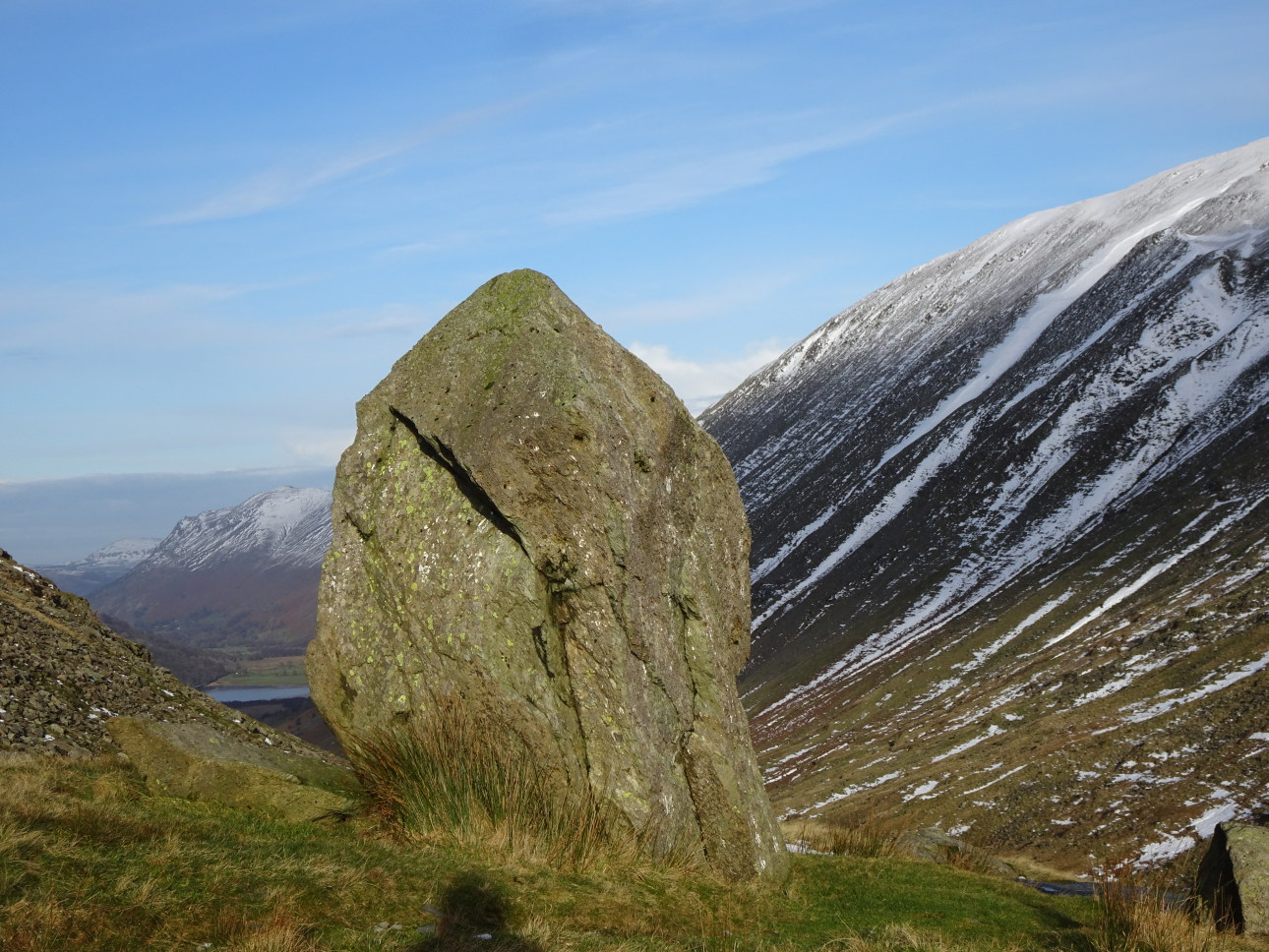 The kirk stone which gives Kirkstone Pass its name. Taken on 5/12/20 at 1:29pm.
