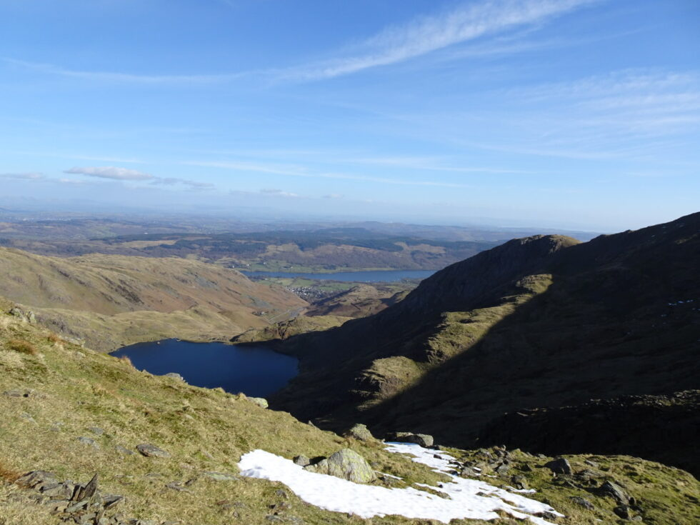 Levers Water and Coniston Water