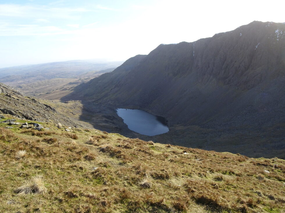 Looking down to Goat's Water