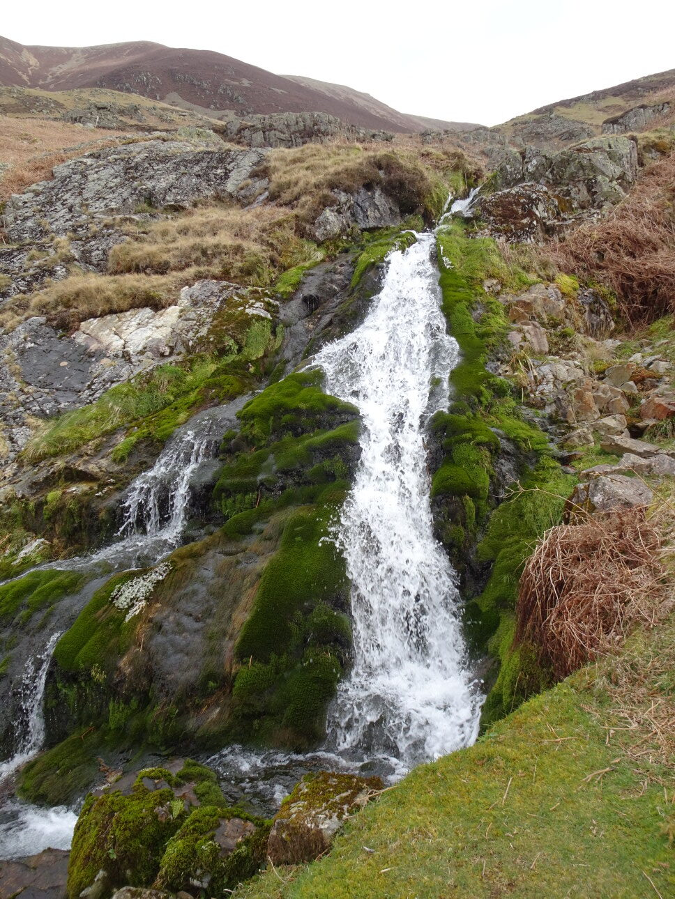 A WATERFALL IN CINDERDALE BECK