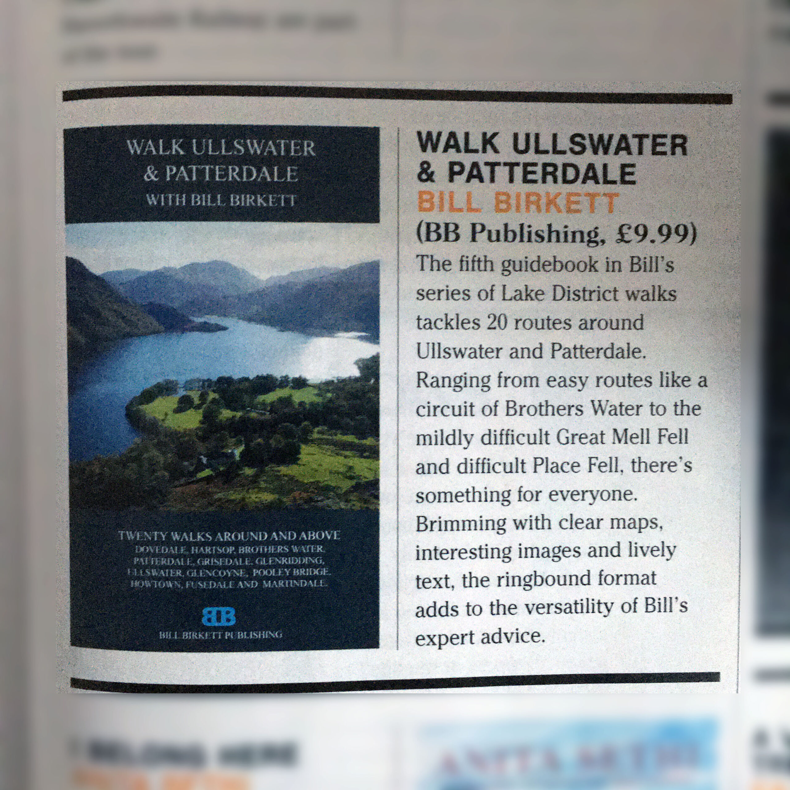 Cumbria Life book review